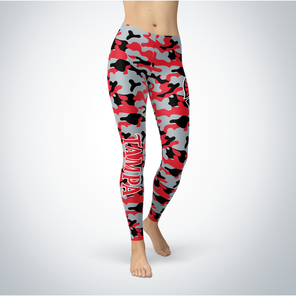 Camo Leggings - Tampa Spartans Front picture