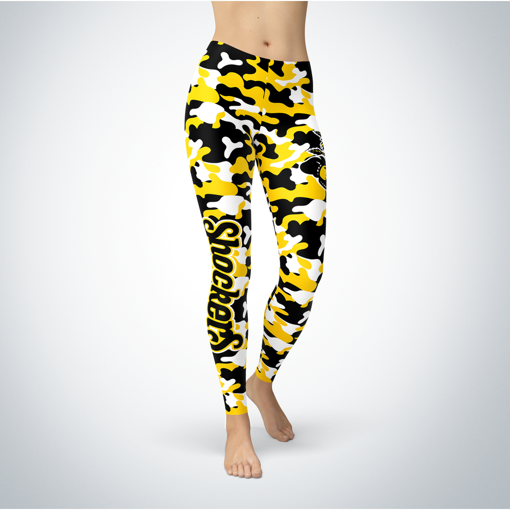 Camo Leggings - Wichita State Shockers Front picture
