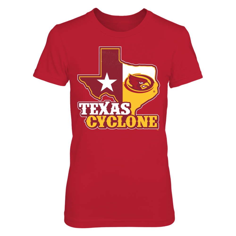 Iowa State Cyclones - Texas Map Mascot Front picture