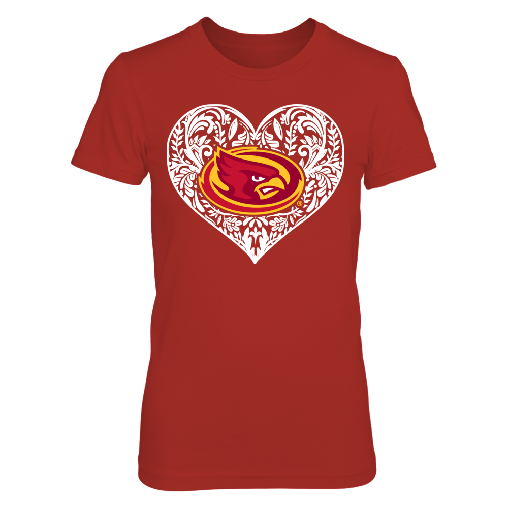 Iowa State Cyclones - Pattern heart - Original Front picture