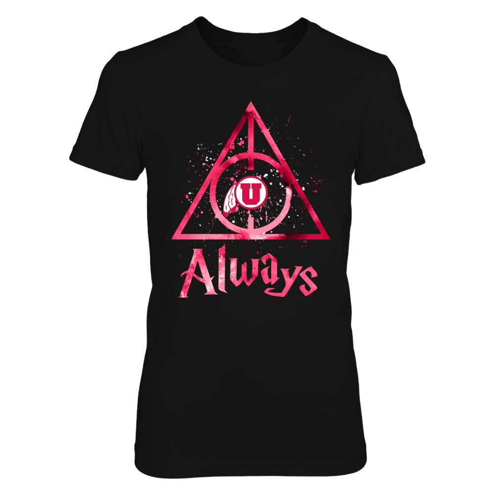 Utah Utes - Color Drop Deathly Hallows Front picture