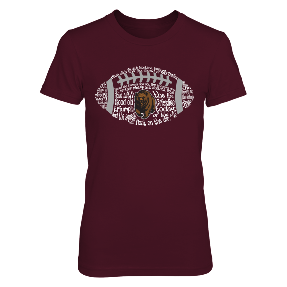 Montana Grizzlies - Fight song Inside Football Front picture