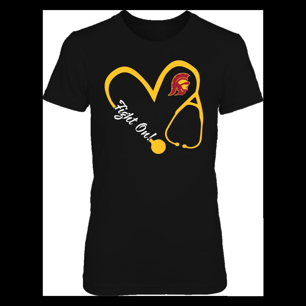 USC Trojans - Heart 3/4 - Nurse Front picture
