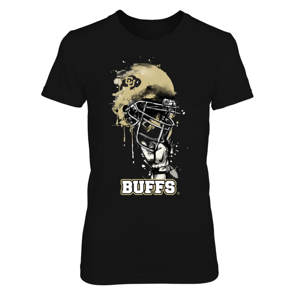 Colorado Buffaloes - Rising Helmet Front picture