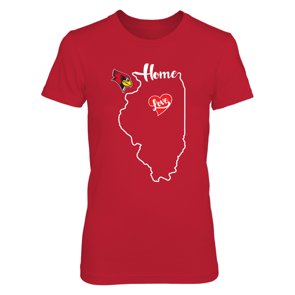 Illinois State Redbirds - State Outline Front picture