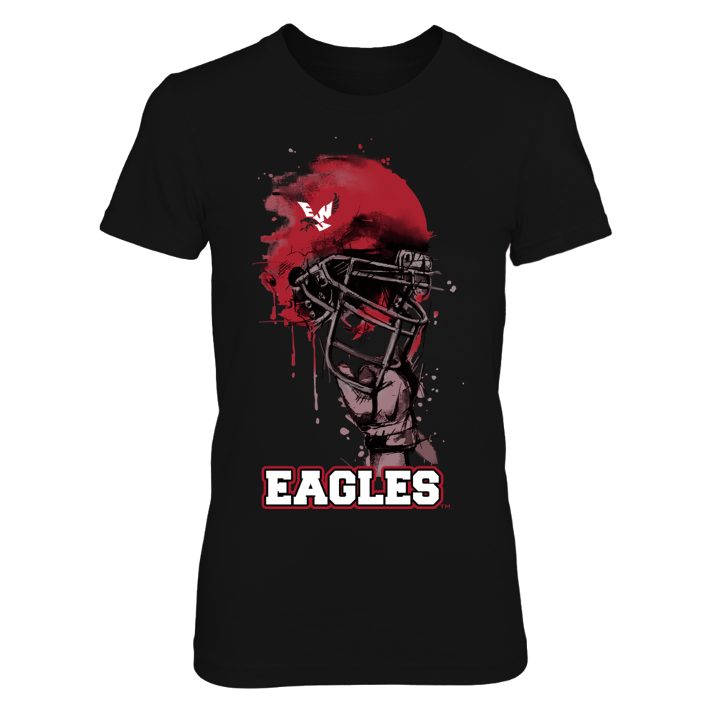 Eastern Washington Eagles - Rising Helmet Front picture