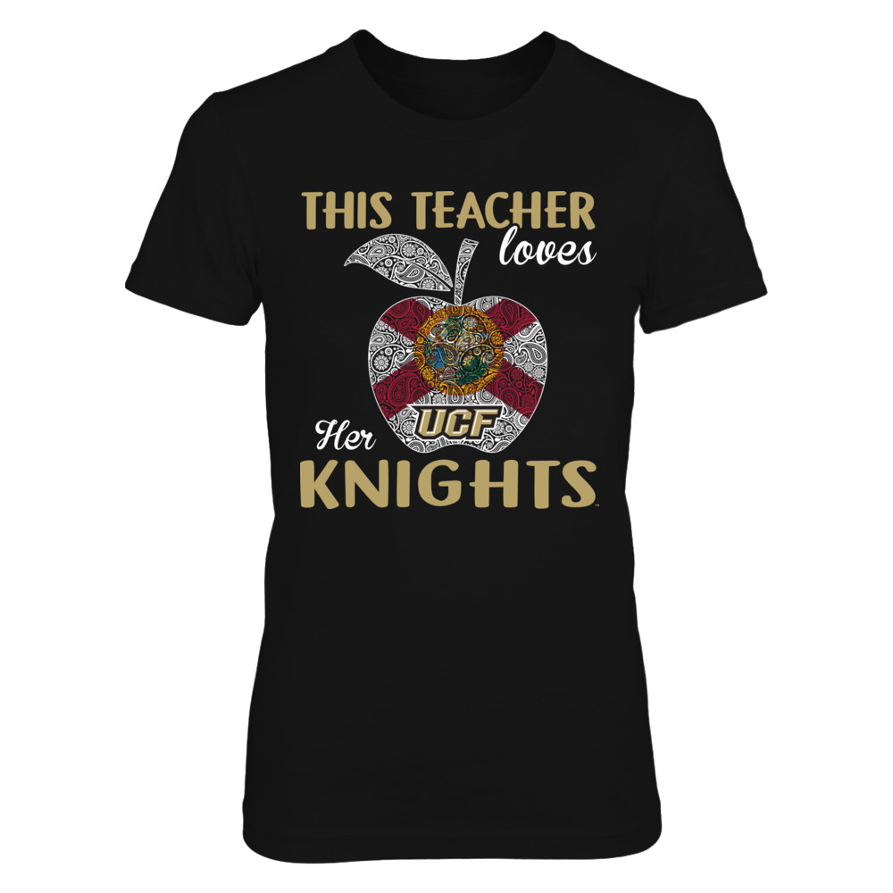 UCF Knights - This Teacher - Apple Front picture