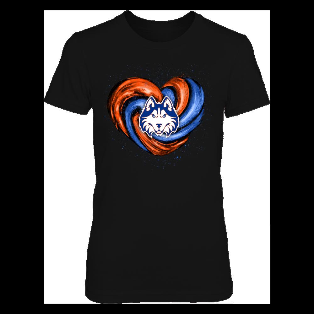 Houston Baptist Huskies - Hurricane Heart - Original Front picture