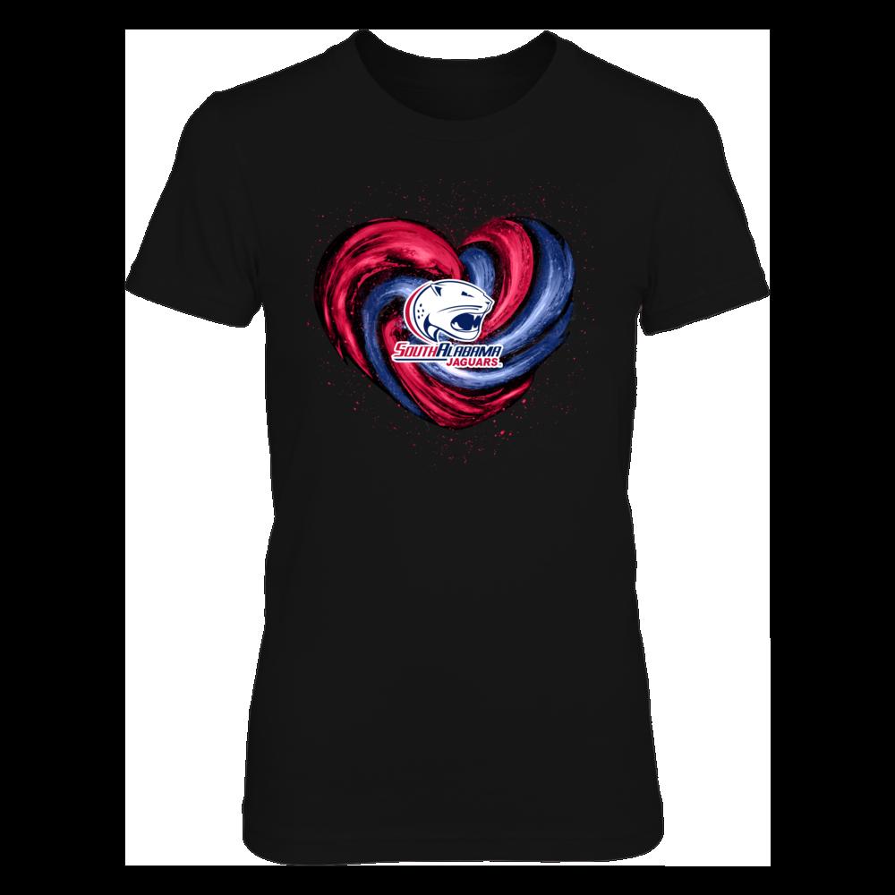 South Alabama Jaguars - Hurricane Heart - Original Front picture