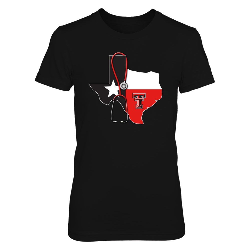 Texas Tech Red Raiders - Nurse - State Map Flag Front picture