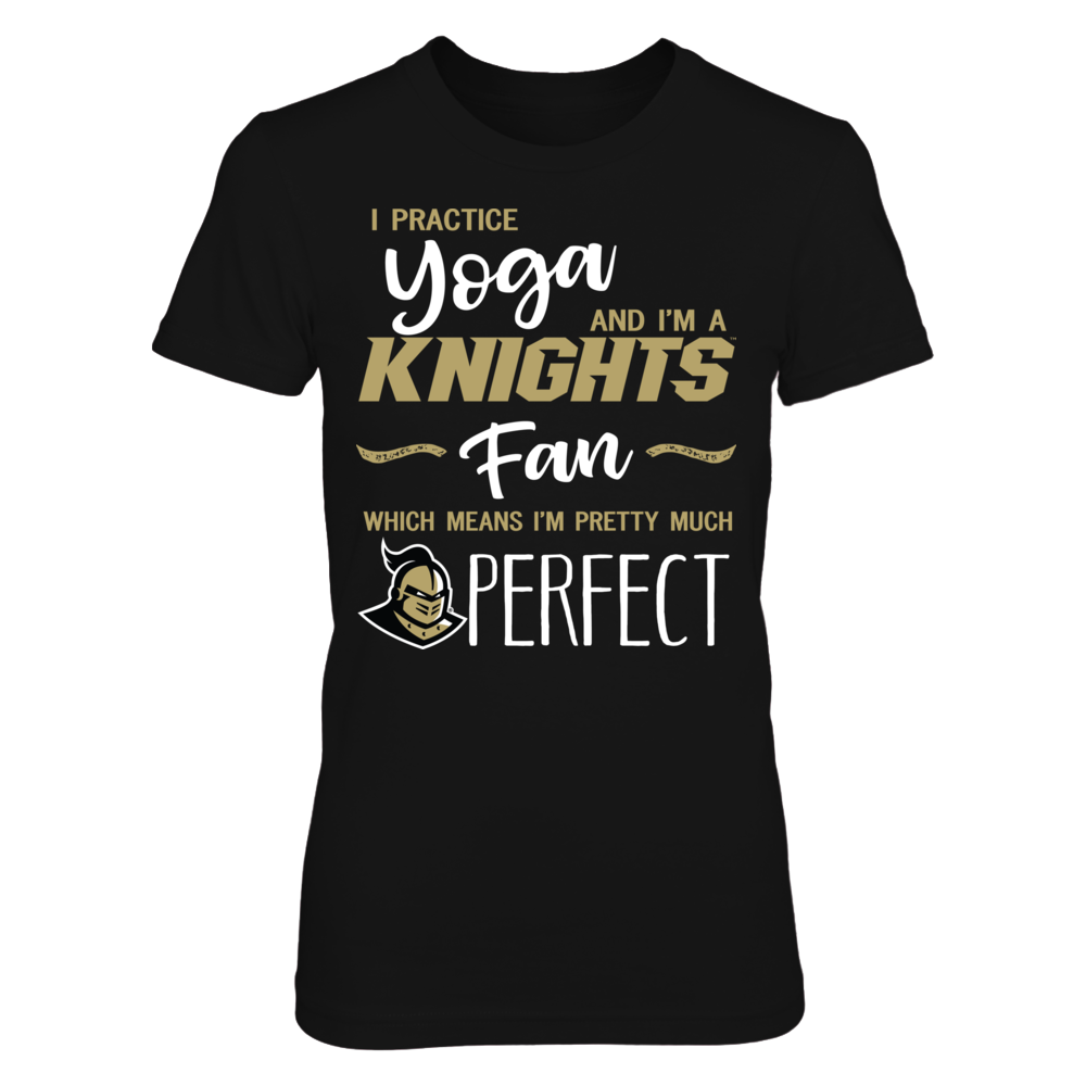 Perfect Yoga Lover - UCF Knights Fan T-Shirt | Tank Front picture