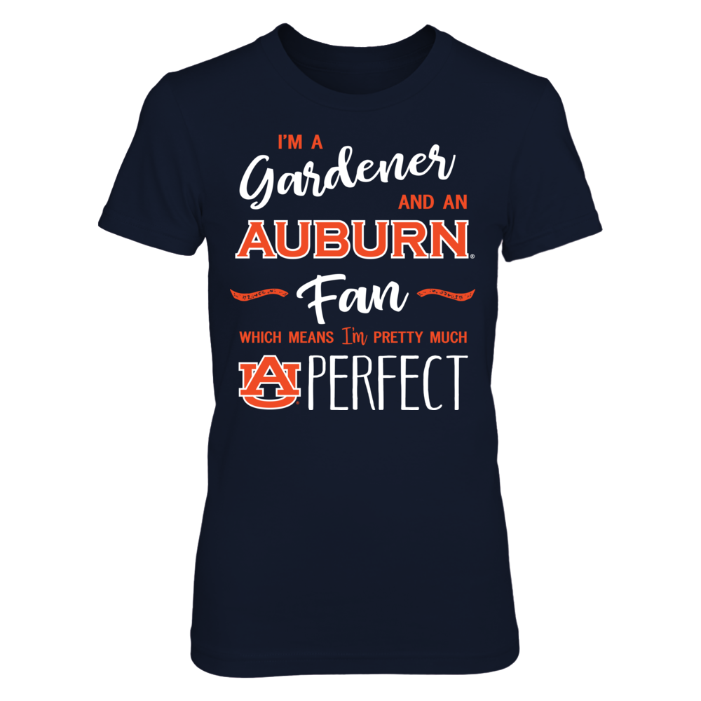 Perfect Gardener - Auburn Tigers Fan T-Shirt | Tank Front picture