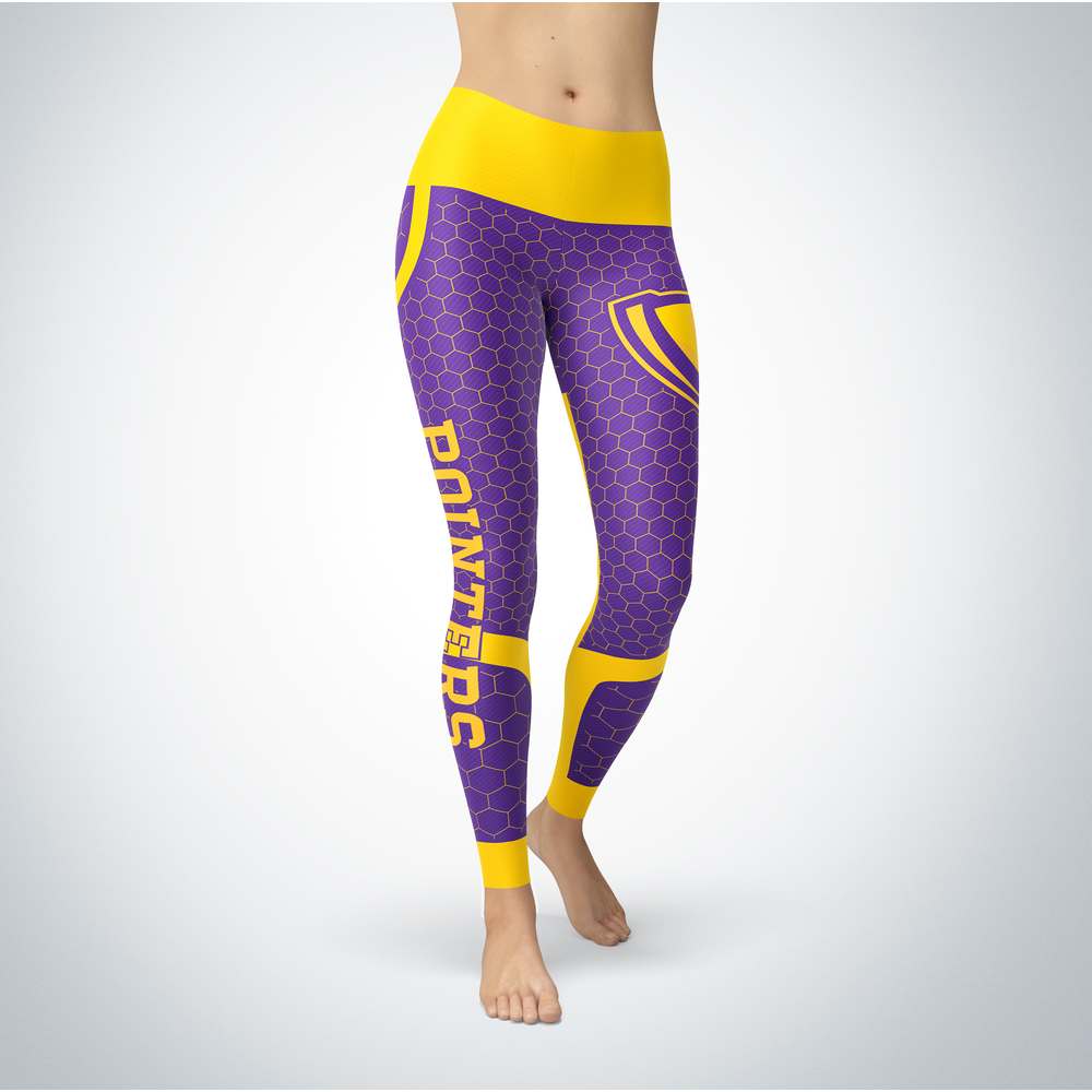 Sporty Design - Wisconsin-Stevens Point Pointers Leggings Front picture