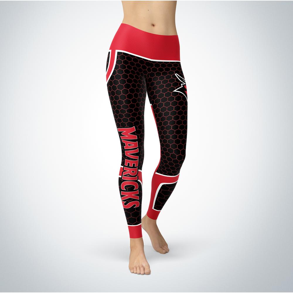 Sporty Design - Nebraska Omaha Mavericks Leggings Front picture