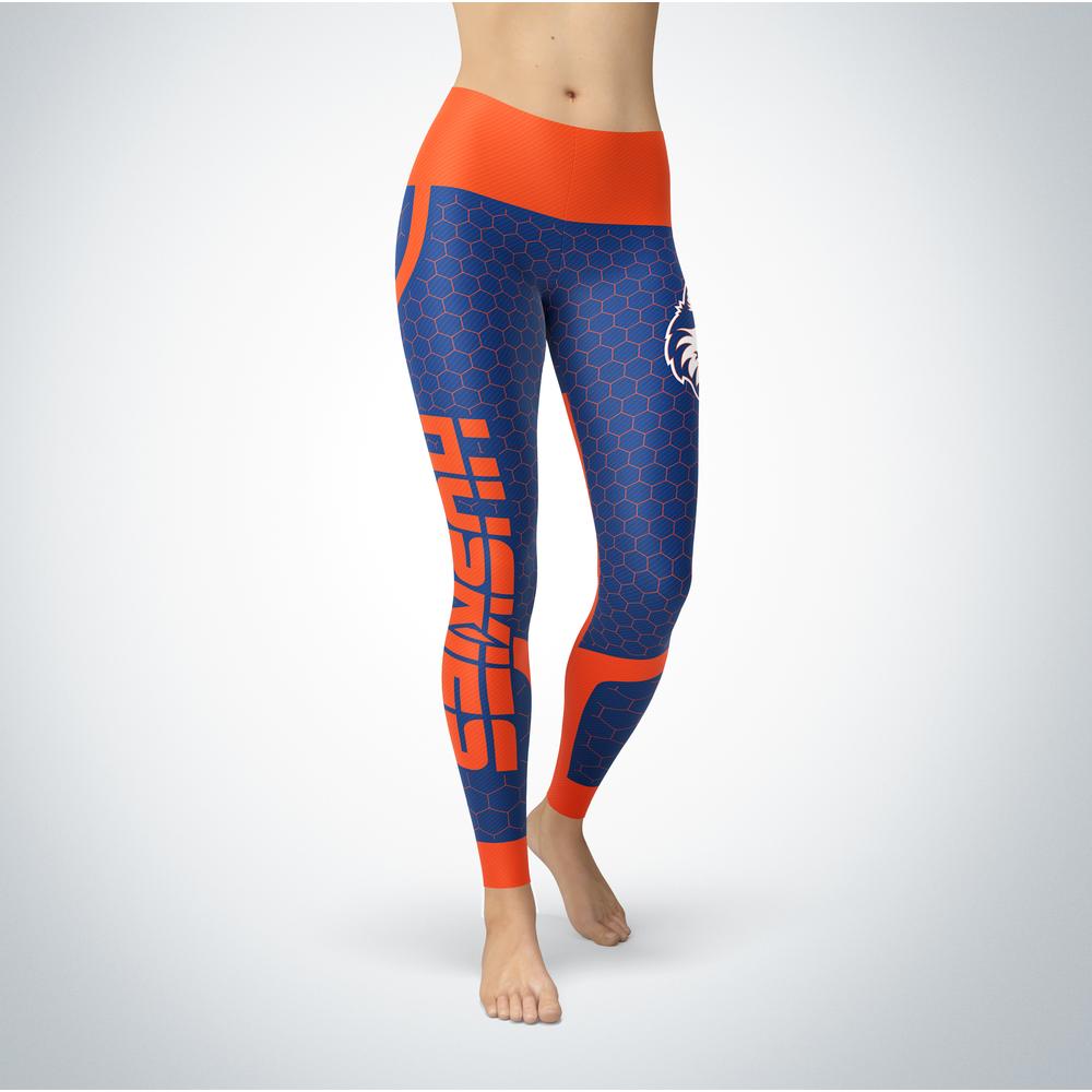 Sporty Design - Houston Baptist Huskies Leggings Front picture