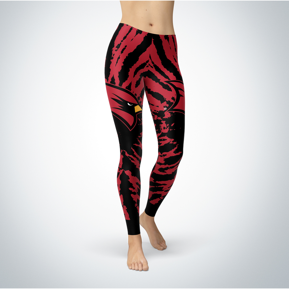 Tie Dye Design - Saginaw Valley State Cardinals Leggings Front picture