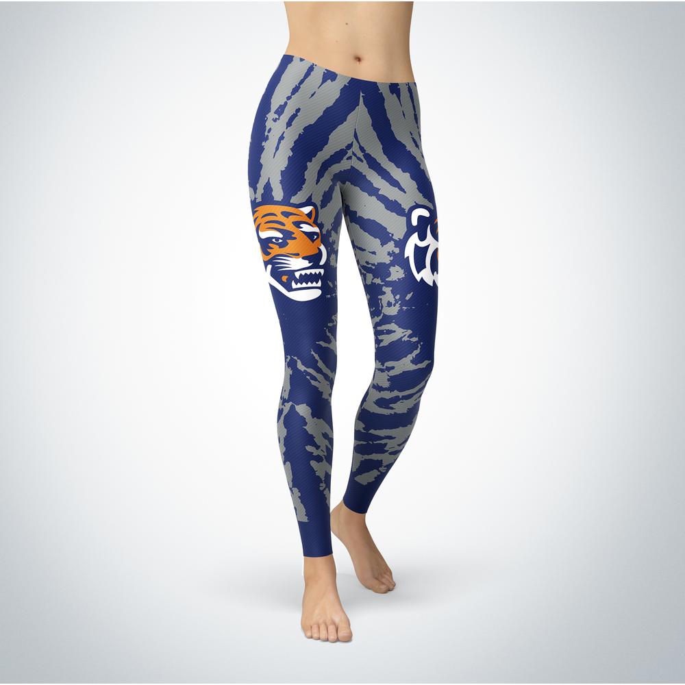 Tie Dye Design - Memphis Tigers Leggings Front picture