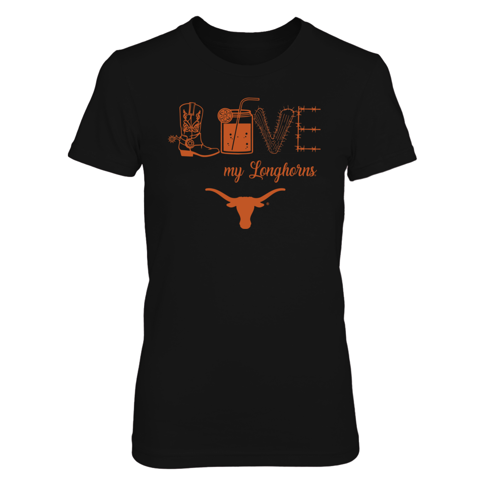 Texas Longhorns - Love - Cowboys things Front picture