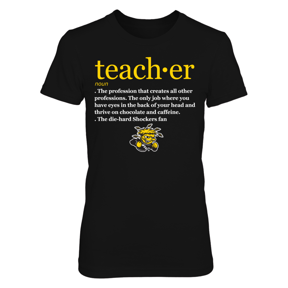 Wichita State Shockers - Teacher Definition - IF-IC13-DS37 Front picture