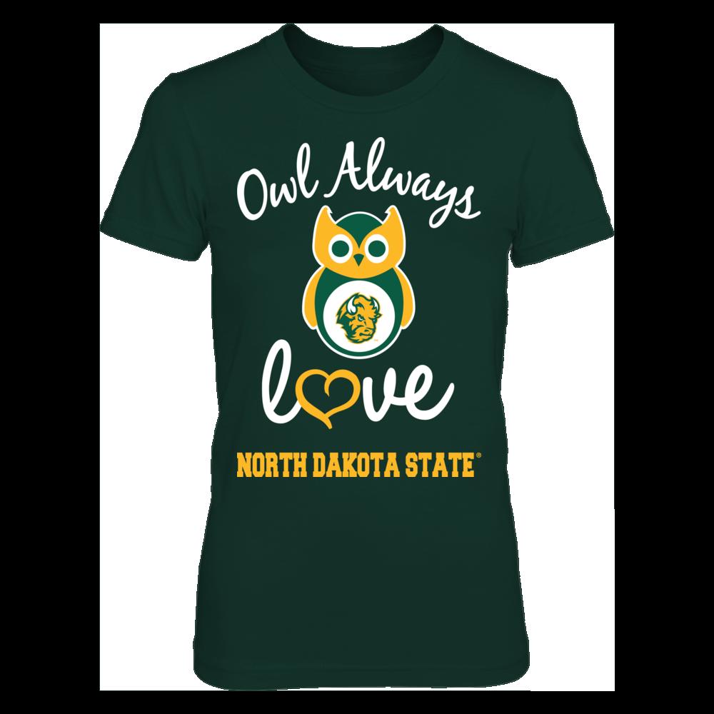 North Dakota State Bison - Owl Always Front picture