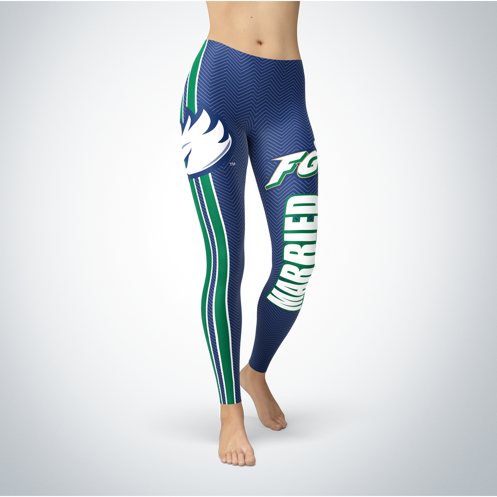 Married Design - Florida Gulf Coast Eagles Leggings Front picture