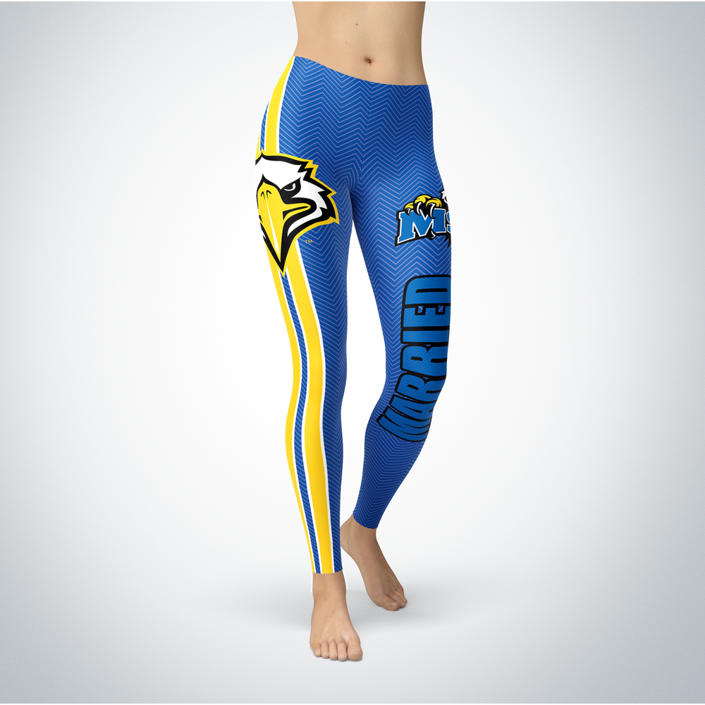 Married Design - Morehead State Eagles Leggings Front picture