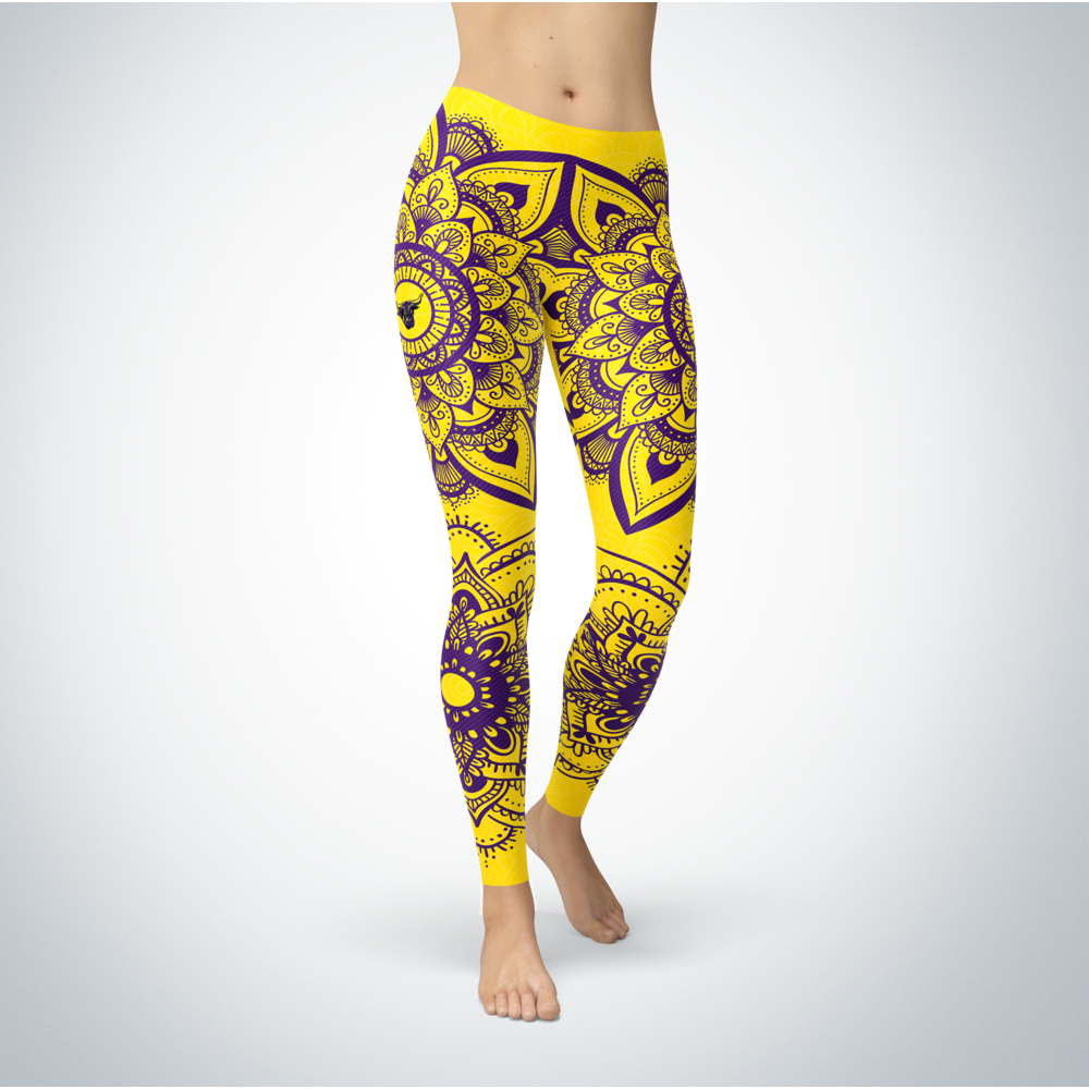 Mandala - Minnesota State Mavericks Leggings Front picture