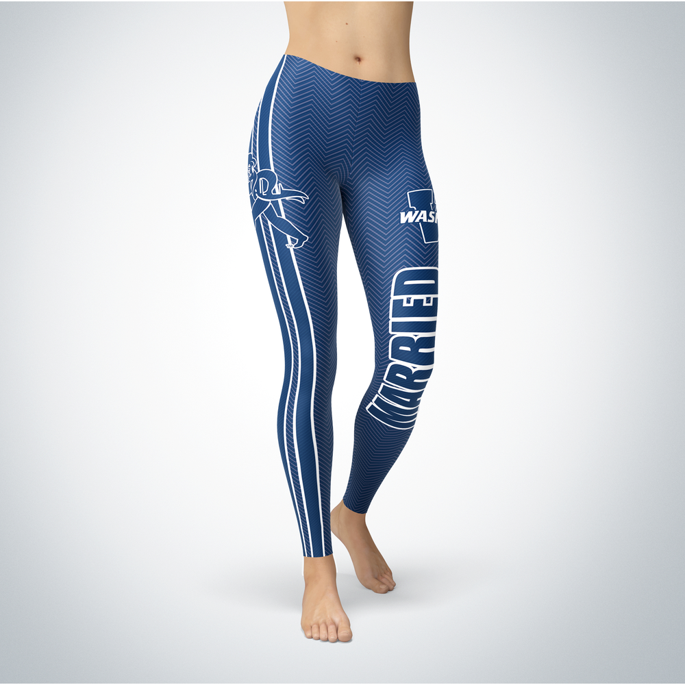 Married Design - Washburn Ichabods Leggings Front picture