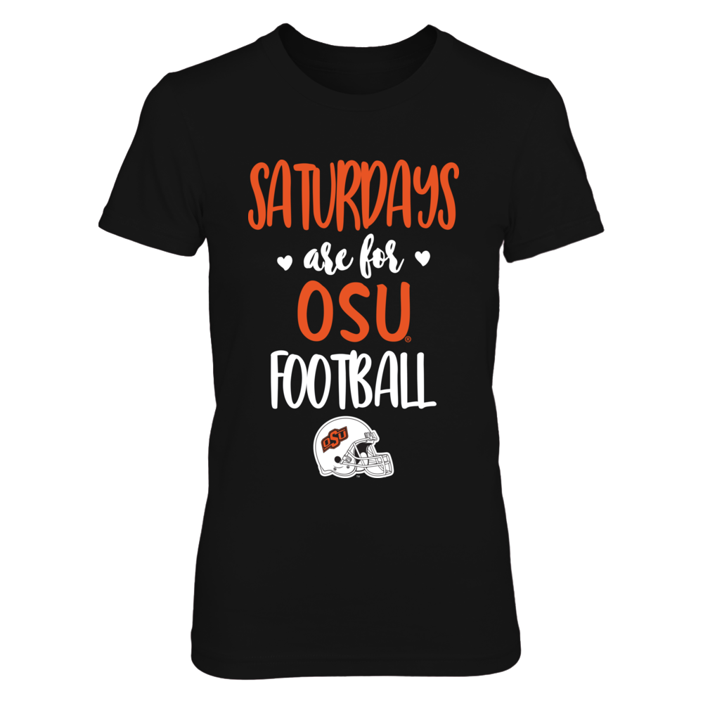 Oklahoma State Cowboys - Saturdays Are For Football - IF-IC13-DS63 Front picture