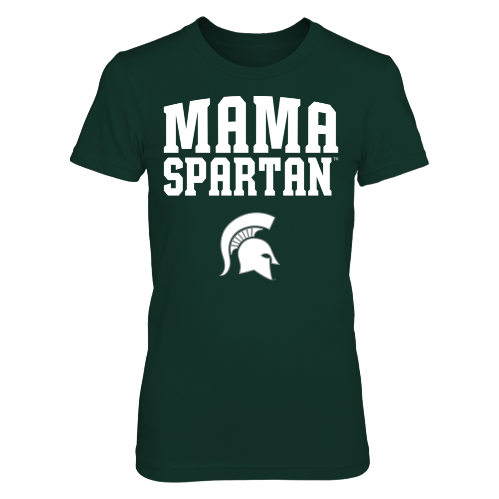 Michigan State Spartans - Mama Mascot Front picture