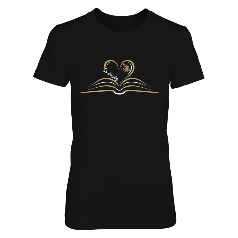 UCF Knights - Heart Book - Slogan Front picture