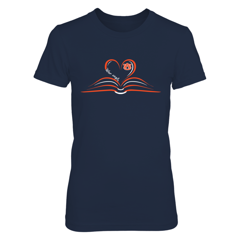 Auburn Tigers - Heart Book - Slogan Front picture