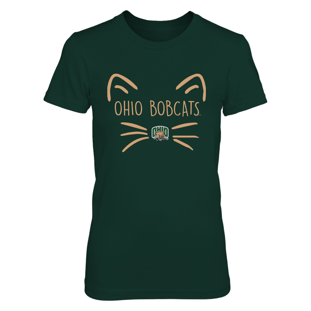 Ohio Bobcats - Cat Face Team - IF-IC13-DS75 Front picture