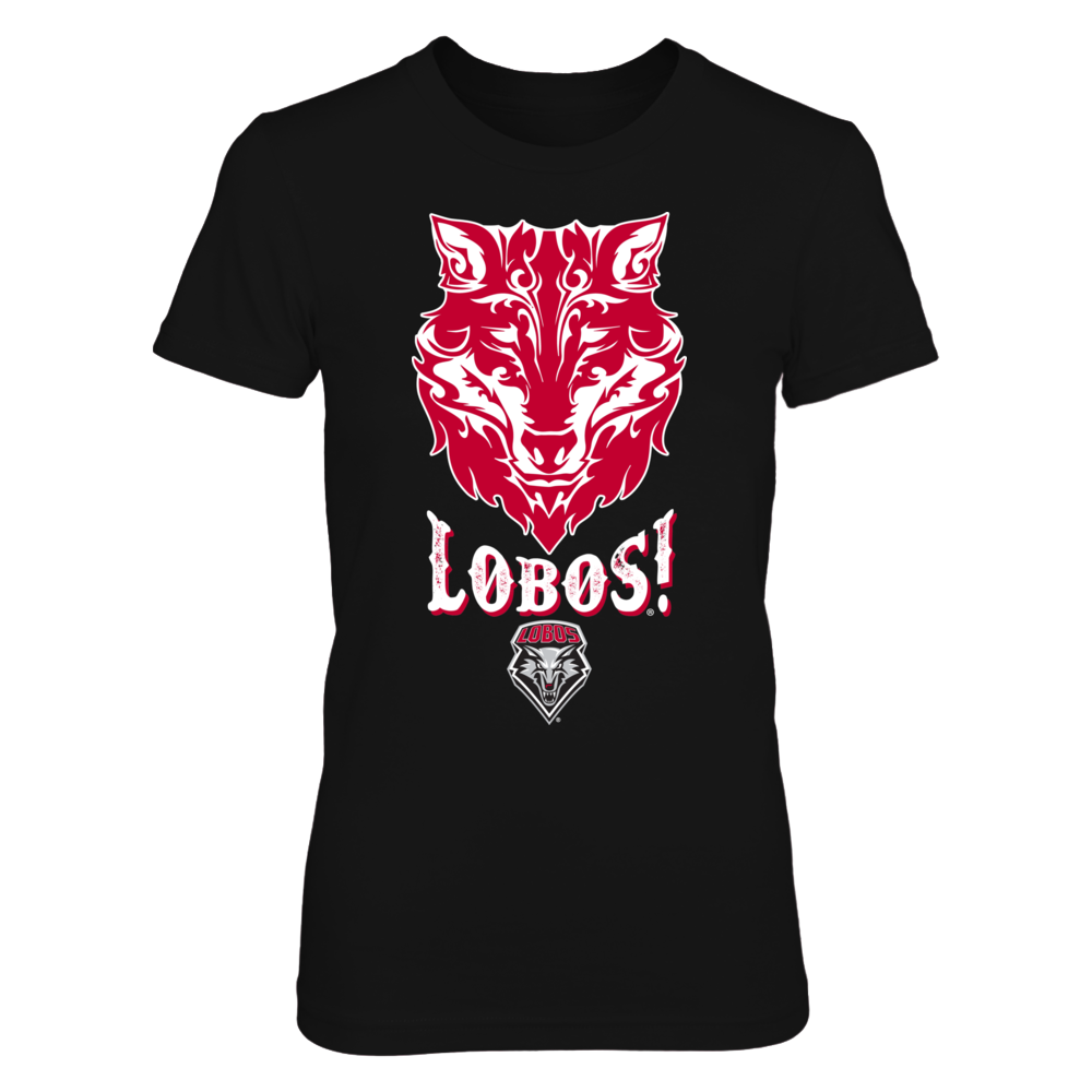 New Mexico Lobos - Pattern Wolf Face Front picture
