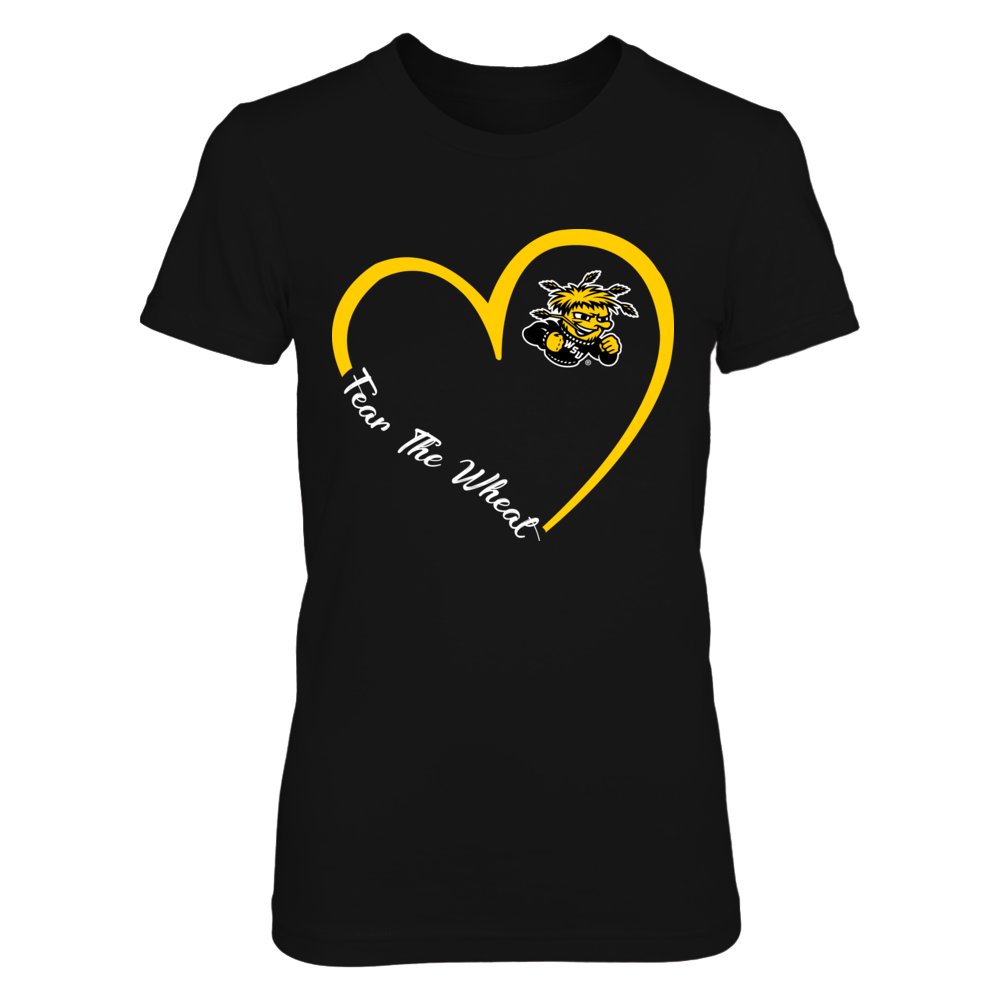 Wichita State Shockers - Heart 3-4 - New Slogan Front picture