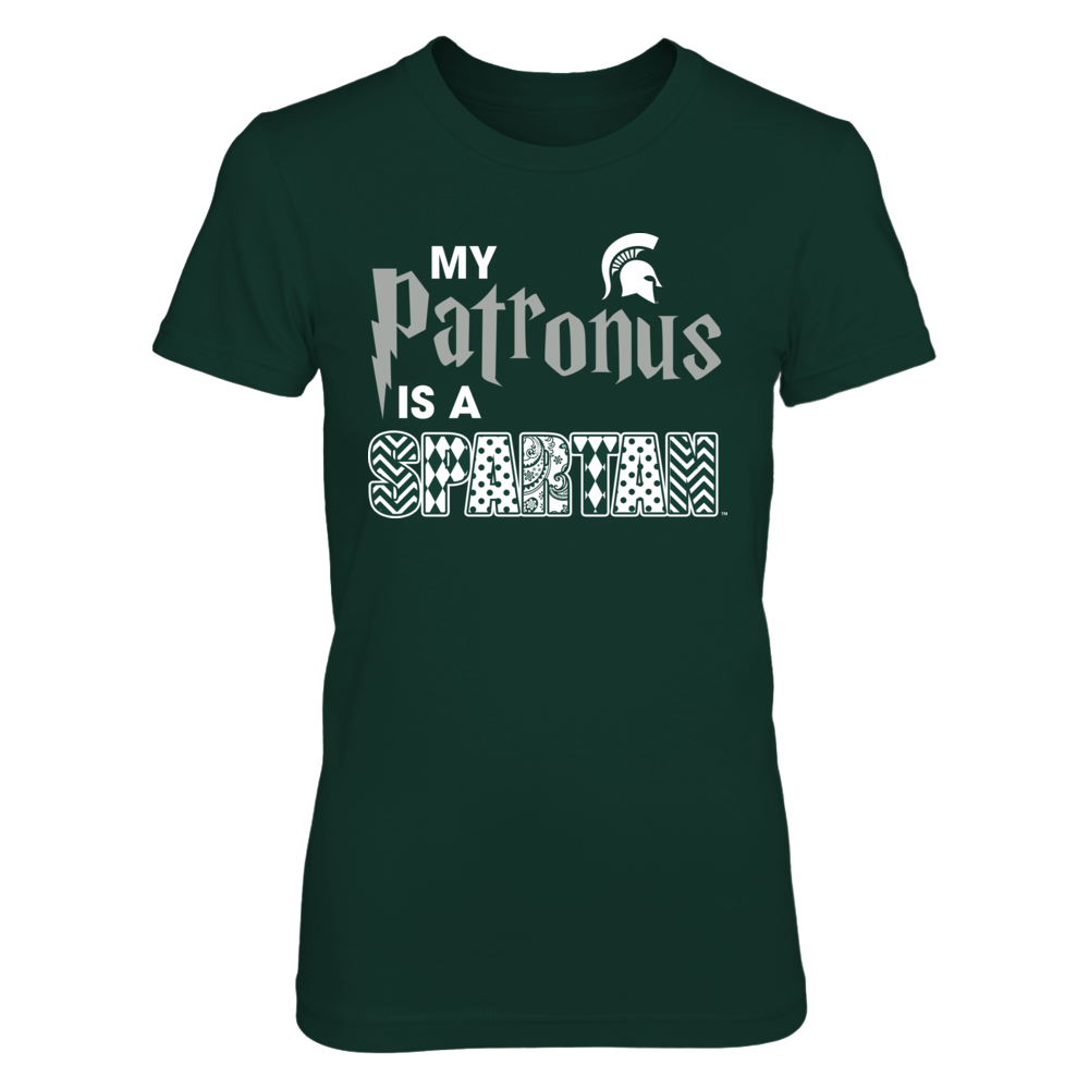 Michigan State Spartans - My Patronus - Patterned Letter Front picture