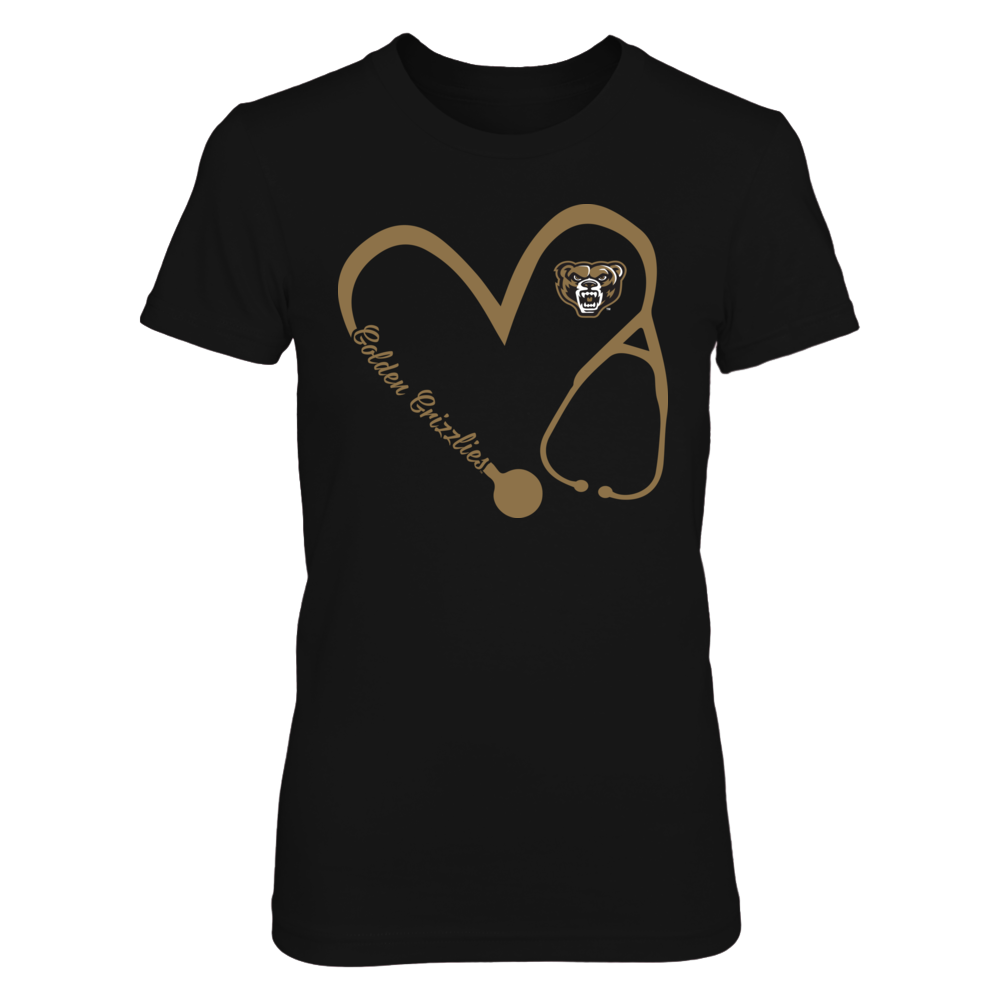 Oakland Golden Grizzlies - Heart 3-4 - Nurse - IF-IC17-DS45 Front picture