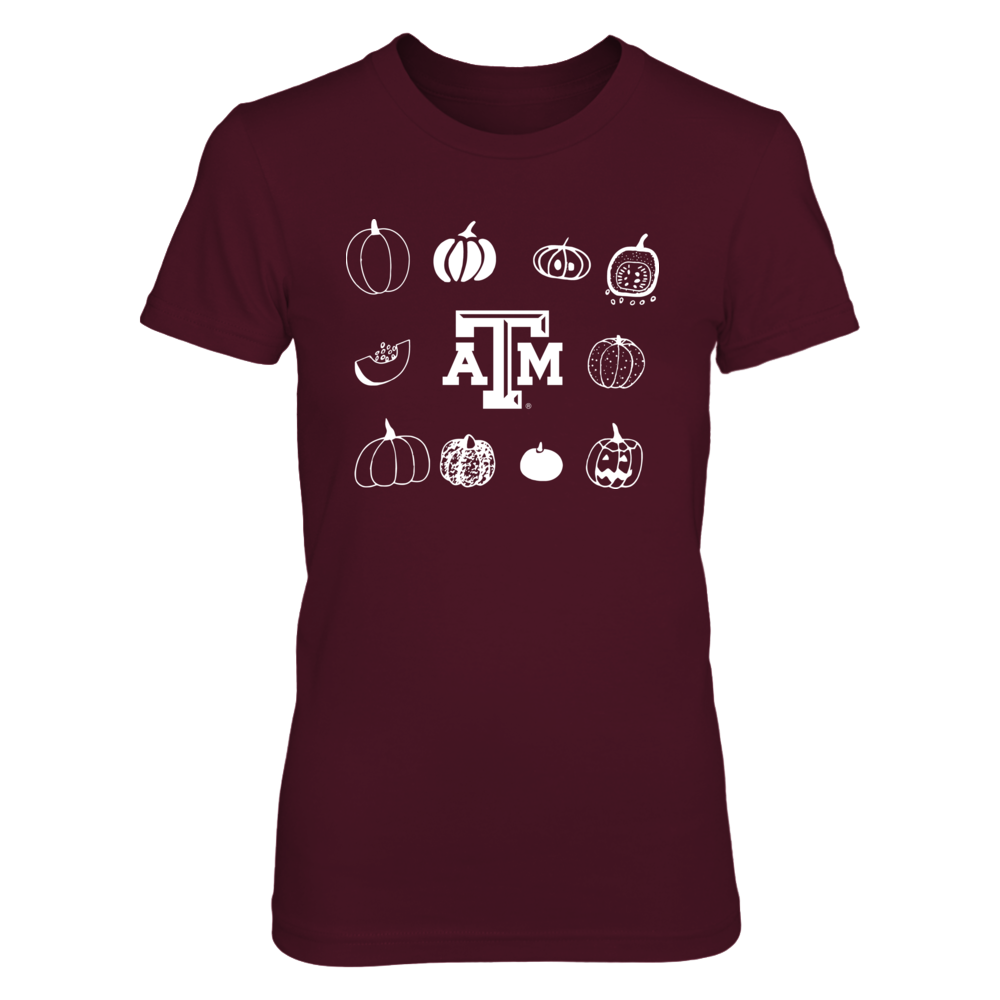 Texas A&M Aggies - Happy Pumpkins Front picture