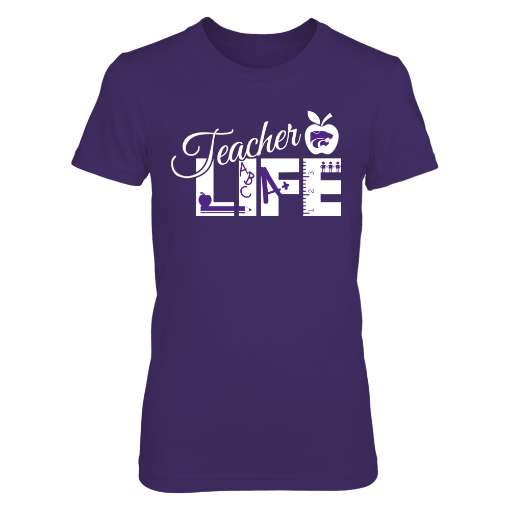 Kansas State Wildcats - Life Of Teacher Front picture
