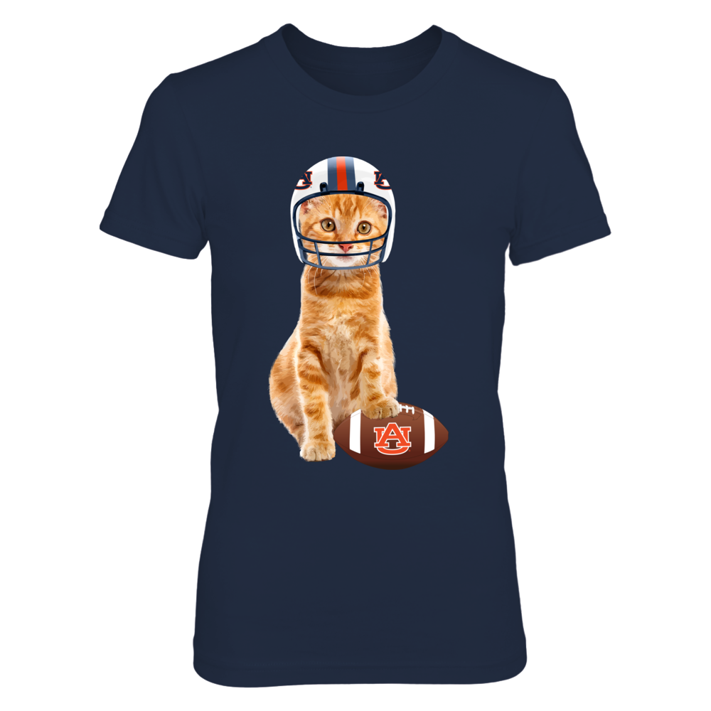 Auburn Tigers - Cats In Football Jersey Front picture