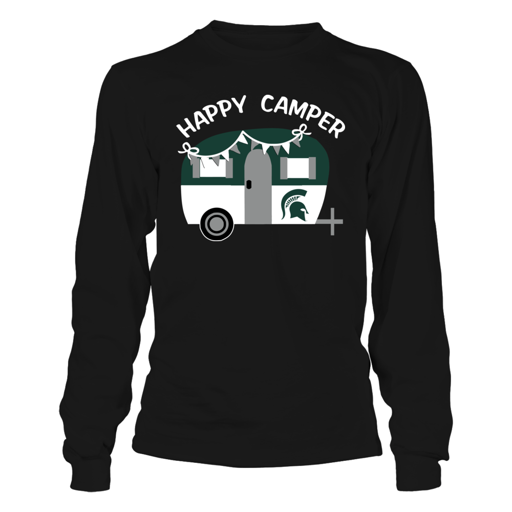 Michigan State Spartans - Camping - Vintage Camping Car Front picture
