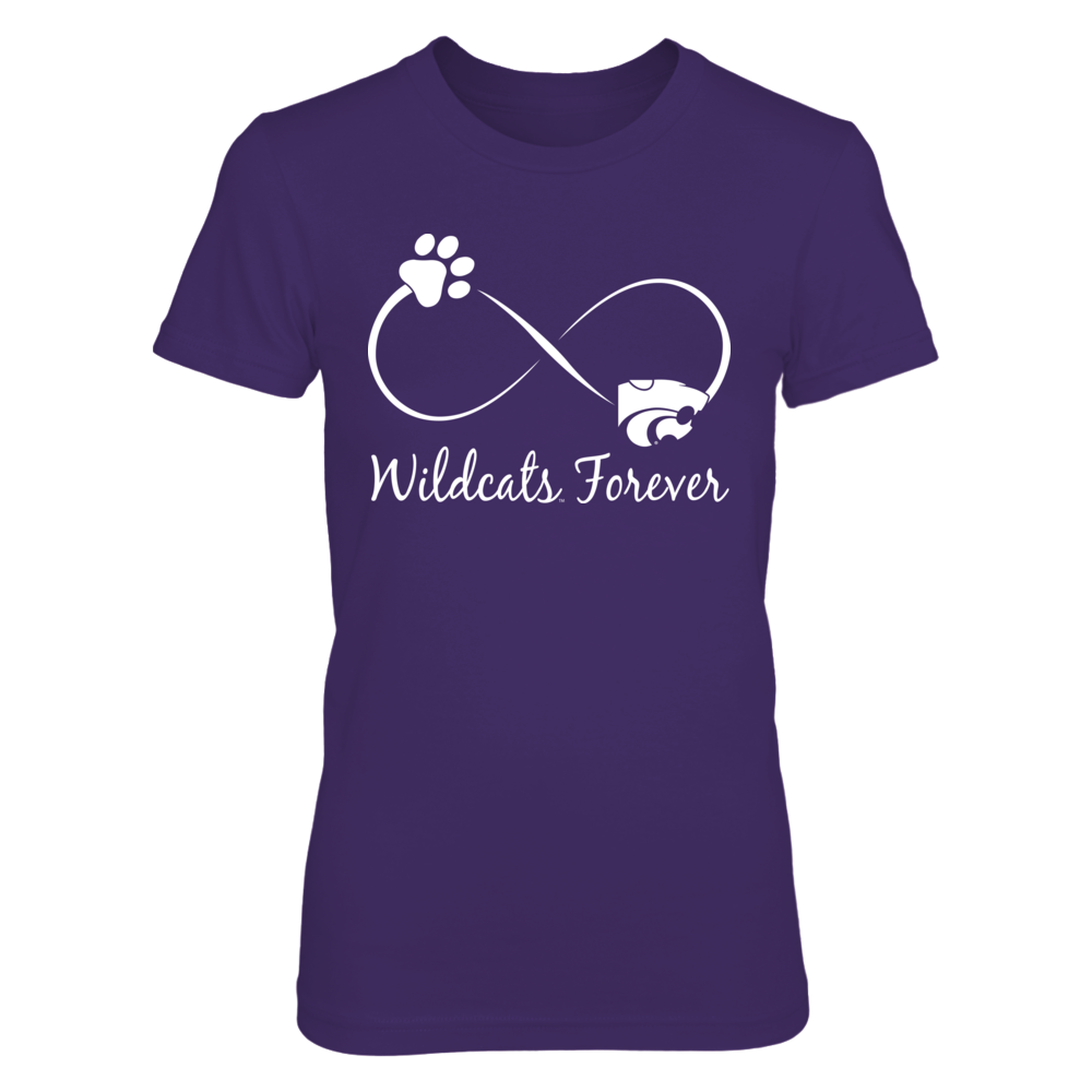 Kansas State Wildcats - Infinity Cat Paw Front picture