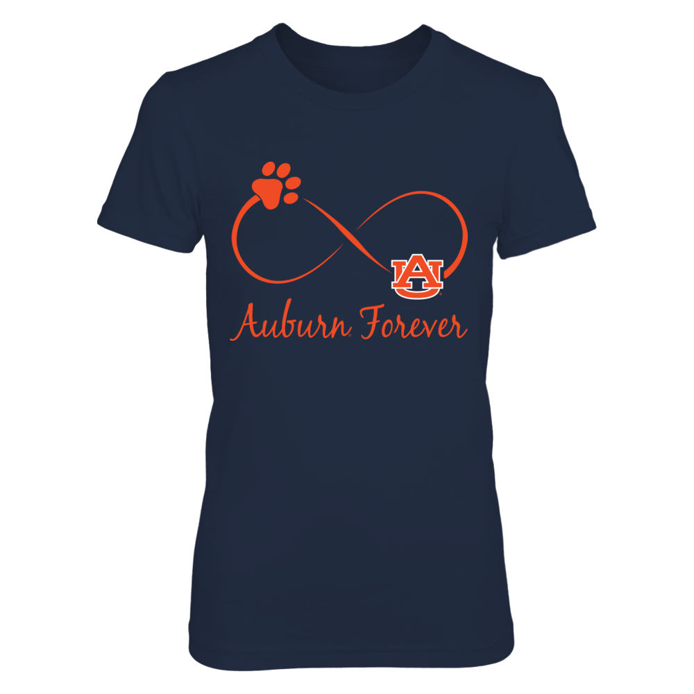 Auburn Tigers - Infinity Cat Paw Front picture