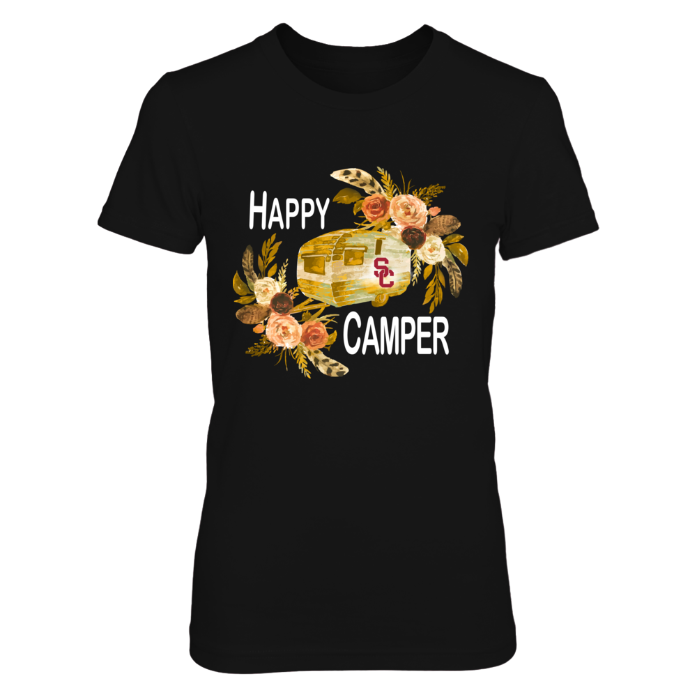 USC Trojans - Camping - Floral Happy Camper Front picture