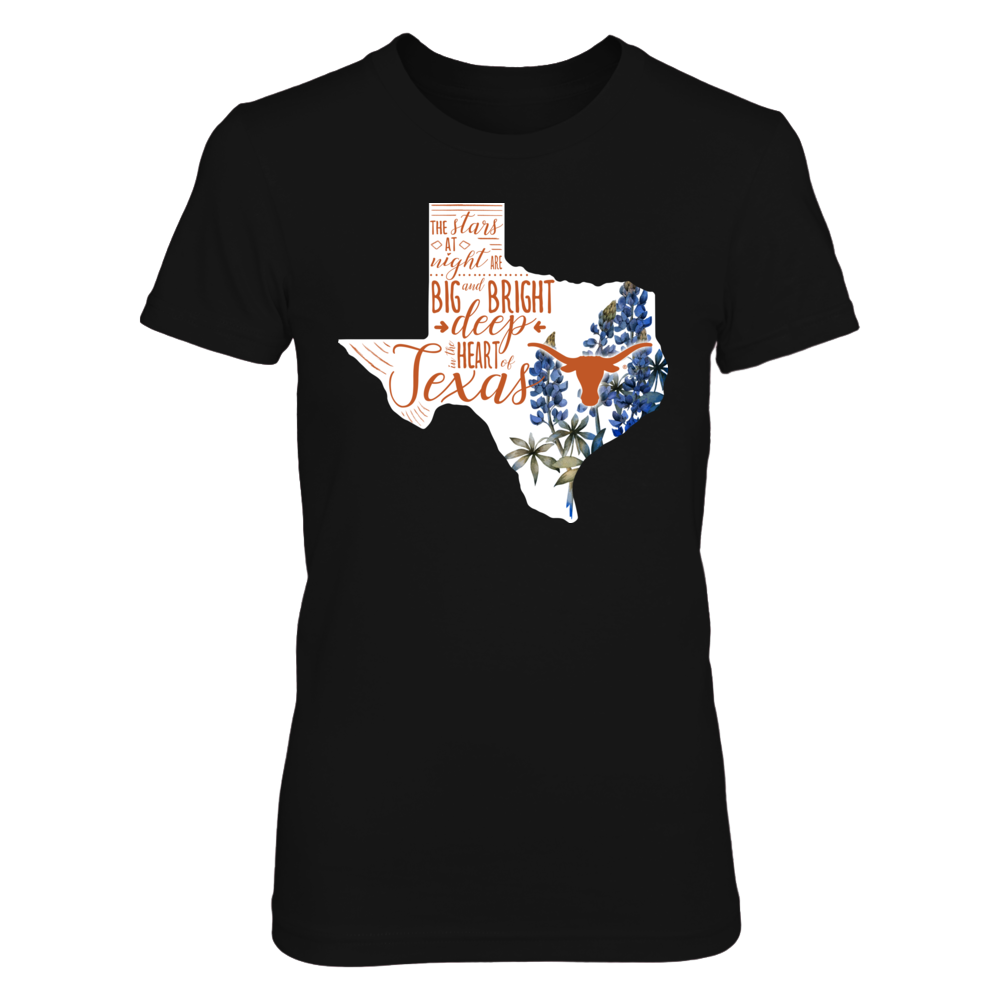 Texas Longhorns - Flower Texas - IF-IC13-DS27 Front picture