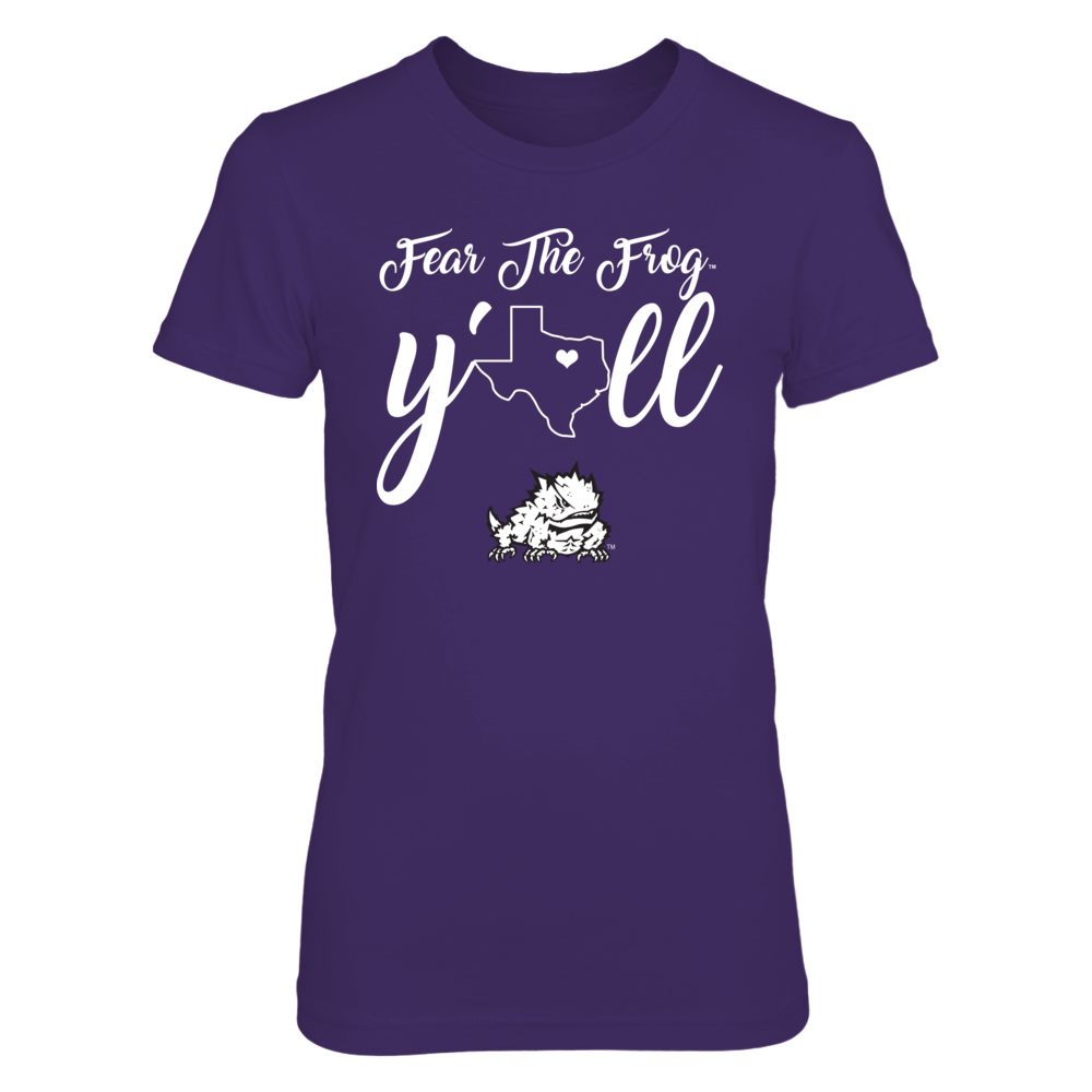 TCU Horned Frogs - Y'all - State Love Front picture