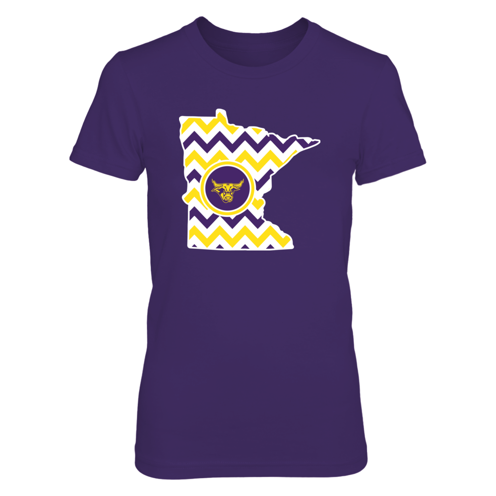 Minnesota State Mavericks - Chevron State Front picture