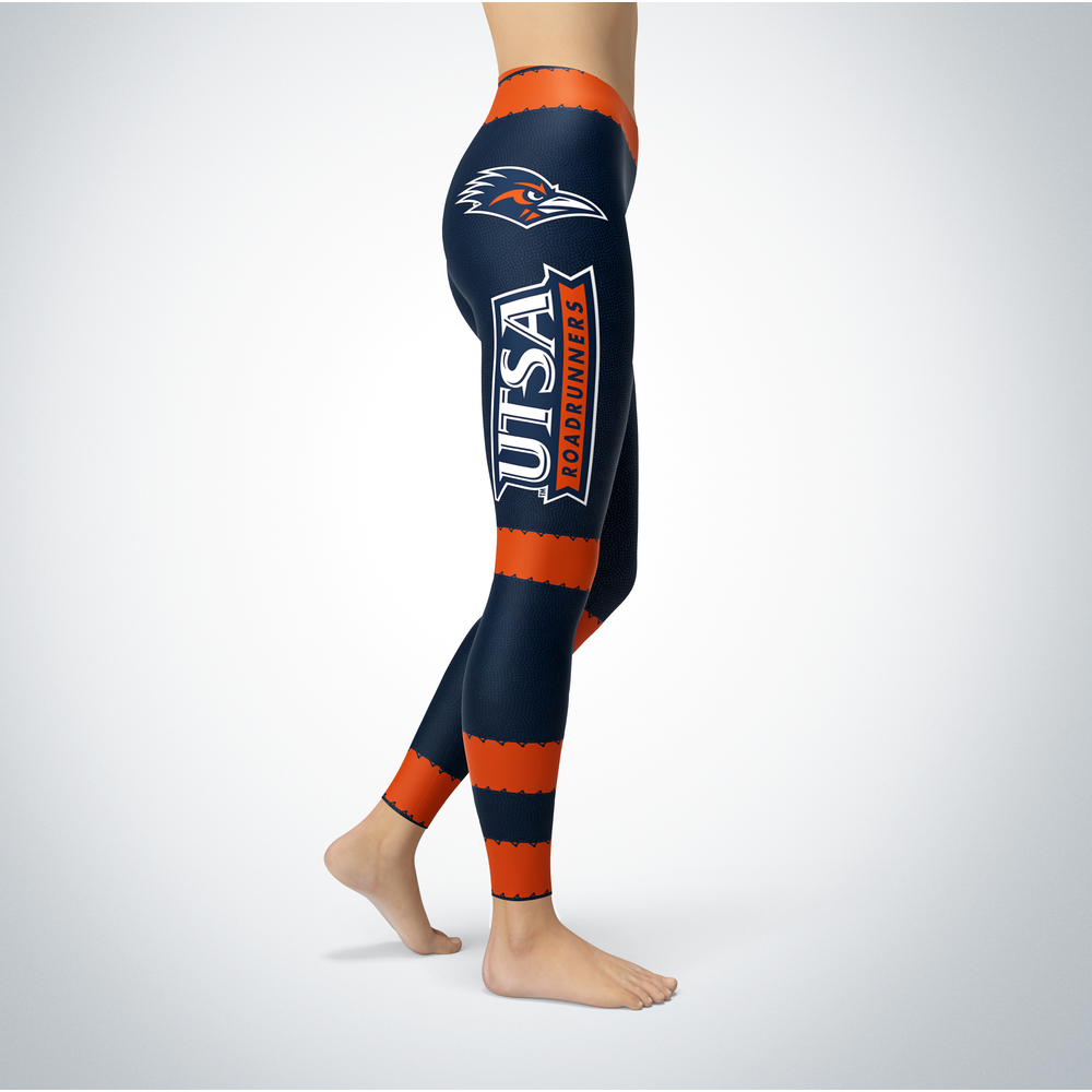 Football Design UTSA Roadrunners Leggings Front picture