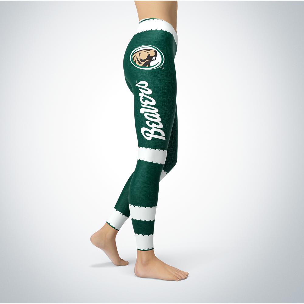 Football Design Bemidji State Beavers Leggings Front picture