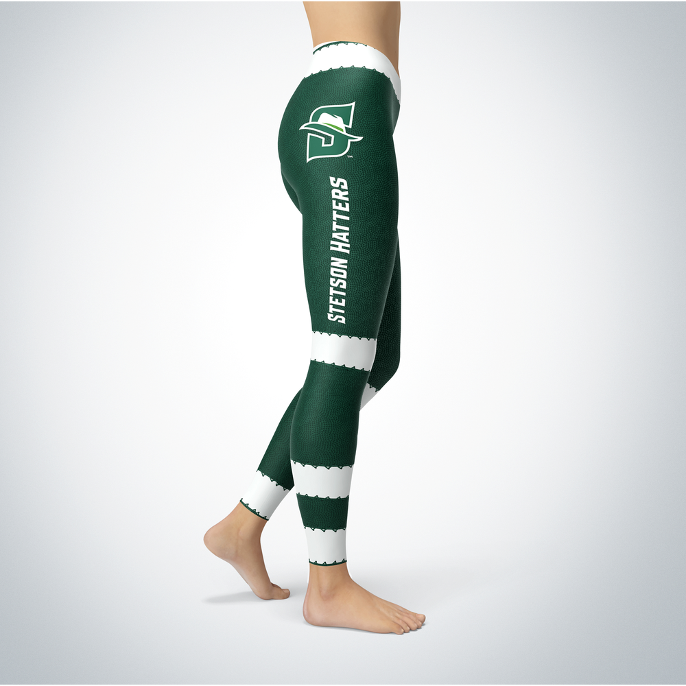 Football Design Stetson Hatters Leggings Front picture